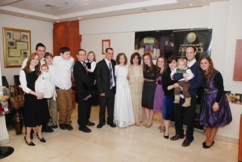 Rabbi Ze'ev Smason's Family